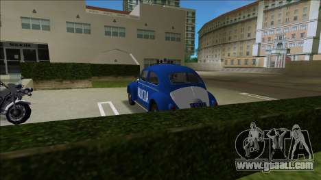 Volkswagen Beetle SFR Yugoslav Milicija (police) for GTA Vice City