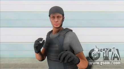 GTA Online Skin (swat) for GTA San Andreas