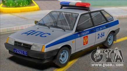 Vaz-2109 Police DPS 2002 for GTA San Andreas