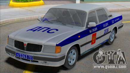 Gaz Volga 3110 DPS v2 for GTA San Andreas