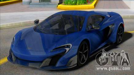 McLaren 675LT Coupe for GTA San Andreas