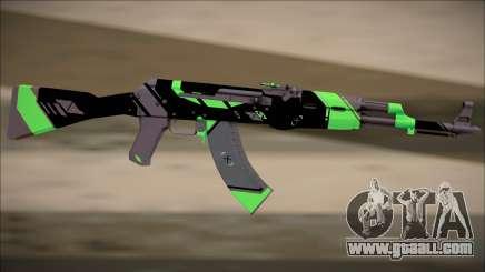 PROJECT ASIIMOV II (lime green) for GTA San Andreas