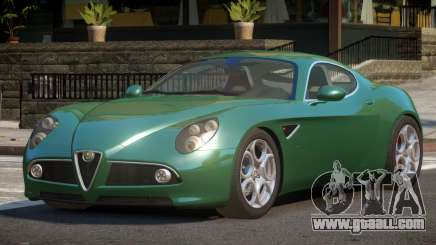 Alfa Romeo 8C Competizione SP for GTA 4