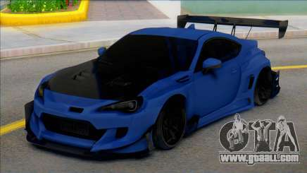 TOYOTA GT86 Carbon for GTA San Andreas