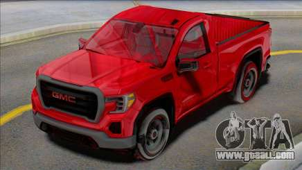 GMC Sierra 2020 for GTA San Andreas