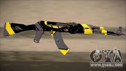 PROJECT ASIIMOV II (yellow) for GTA San Andreas