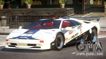 Lamborghini Diablo Super Veloce L8 for GTA 4