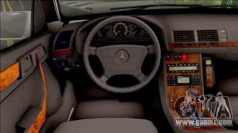 Mercedes-Benz E420 W210 Drift Gruz for GTA San Andreas