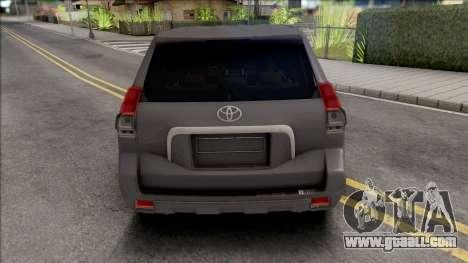 Toyota Land Cruiser Prado Grey for GTA San Andreas