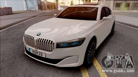 BMW M750Li G12 2019 for GTA San Andreas