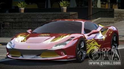 Ferrari F8 Tributo BS L9 for GTA 4
