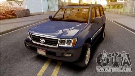 Toyota Land Cruiser Series 100 for GTA San Andreas