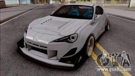 Toyota GT86 Uras GT for GTA San Andreas