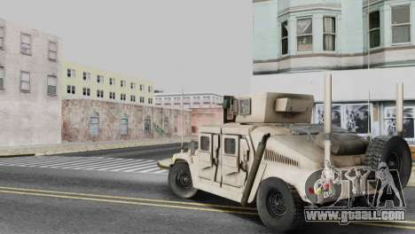 AM GENERAL HUMVEE M1151 IRAQ ARMY for GTA San Andreas