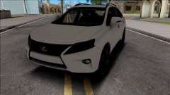 Lexus RX350 2014 for GTA San Andreas