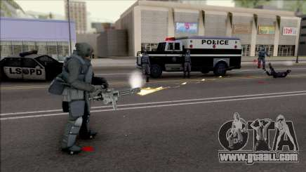 Ballistic Armour Mod Updated for GTA San Andreas