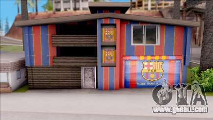 FC Barcelona House of Fans for GTA San Andreas