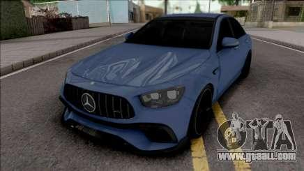 Mercedes-Benz E63 S AMG for GTA San Andreas