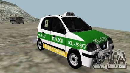 Hyundai Atos Taxi Xalapa for GTA San Andreas