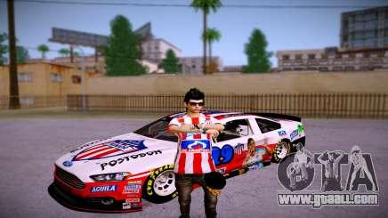 Ford Fusion Nascar: Junior FC Skin for GTA San Andreas