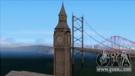 Improved Big Ben for GTA San Andreas