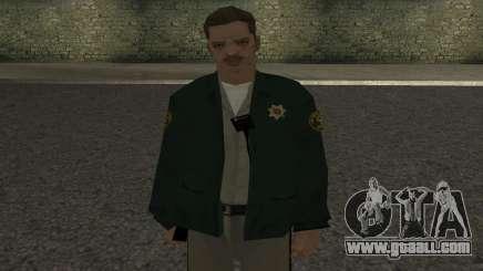 Sheriff skin for GTA San Andreas