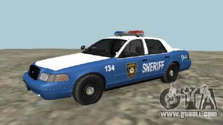Ford Crown Victoria 2001 from The Walking Dead for GTA San Andreas