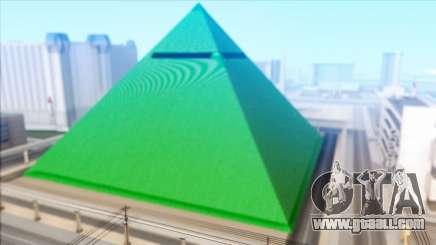 Green Pyramid LV for GTA San Andreas