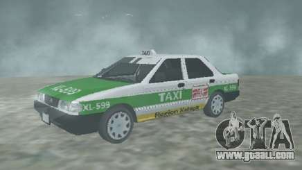 Nissan Tsuru Taxi Xalapa for GTA San Andreas