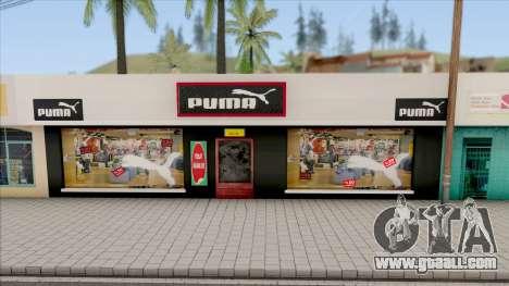 Puma Clothing Store for GTA San Andreas