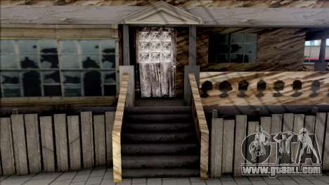 CJ Abandoned House for GTA San Andreas