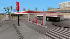 Flying A Gas Station for GTA San Andreas