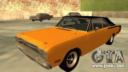 Dodge Charger RT 1971 Brazilian for GTA San Andreas