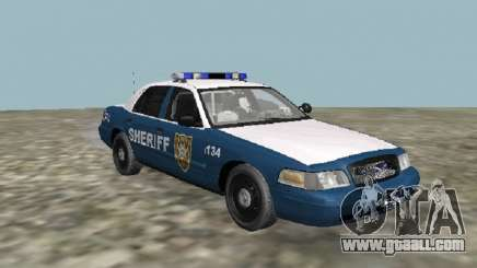 Ford Crown Victoria 2001 The Walking Dead V2 for GTA San Andreas
