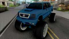 Cavalcade FXT Lifted Truck for GTA San Andreas