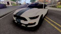 Ford Mustang Shelby GT350R (SA Lights) for GTA San Andreas
