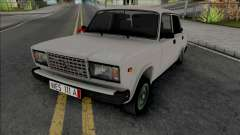 Vaz 2107 Kortec Style Azelow for GTA San Andreas