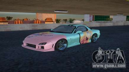 Mazda RX-7 Gabriel White Tenma for GTA San Andreas
