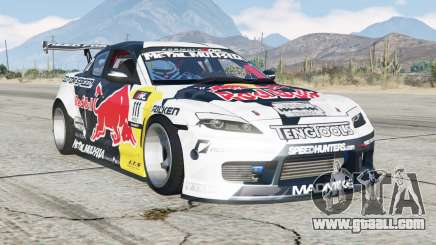 Mazda RX-8 Mad Mike for GTA 5