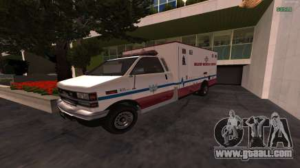 MGCRP AMBULANCE Mod for GTA San Andreas