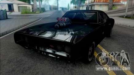 Dodge Charger RT Furious 7 (SA Lights) for GTA San Andreas