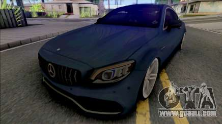 Mercedes-AMG C63s Coupe 2021 for GTA San Andreas