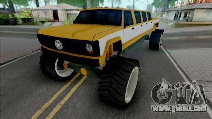 Monster A Lifted Truck for GTA San Andreas