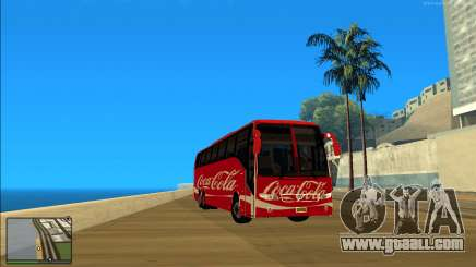 Coca Cola Volvo Bus Mod for GTA San Andreas