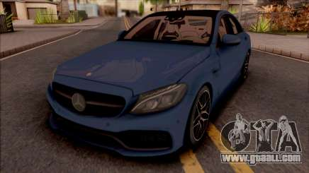 Mercedes-AMG C63S W205 for GTA San Andreas