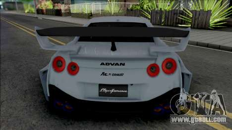 Nissan GT-R R35 LB Silhouette Works for GTA San Andreas