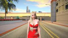 Helena Red Dress for GTA San Andreas