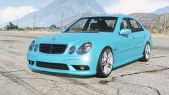 Mercedes-Benz E 55 AMG (W211) 2002 v1.2〡add-on for GTA 5