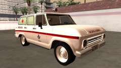 Chevrolet Veraneio 1973 INAMPS Ambulance