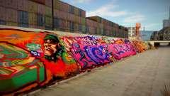 Los Angeles 90s Stormdrain Graffiti for GTA San Andreas